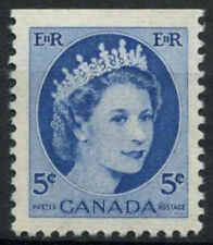 Canada 1954-62 SG#467, 5c QEII Definitive MNH Top Imperf #D6951