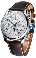 Longines L26734783 / L2.673.4.78.3 Master Moon Men's Chronograph Watch-Authentic