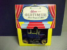 BOXED  VGC SCHUCO 1227 OLD TIMER FORD COUPE T 1917 CLOCKWORK CAR IN BLUE