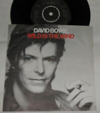 """David Bowie Wild is the Wind  7"""" Single Vinyl Record BOW 10"""