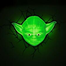 STAR WARS 3D YODA SPACE SPACE TV FILM boy's Phillips night light room decoration