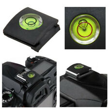 Camera Hot Shoe Bubble Spirit Level Cover Cap For Canon Nikon Pentax Olympus 1X