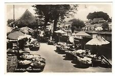 Paser Peneleh - Soerabaja Surabaya Real Photo Postcard c1930 East Java Indonesia