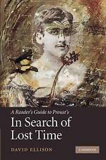A Reader's Guide to Proust's 'In Search of Lost Time', Ellison, David, Very Good