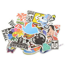 30 Pieces Stickers Skateboard Graffiti Laptop Luggage Decals mix Lot Cool