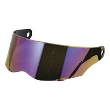 Bandit Alien / Alien 2 / EXX / Fighter Motorcycle Helmet Visor - Rainbow Mirror