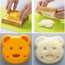 Fashion Cute Bear Head Sandwich Mold Bread Biscuit Cookie Mold Bread Toaste Cut