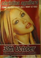 Christina Aguilera Come On Over Baby Promo Superposter 101x151cm!