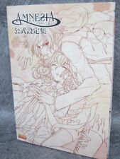 AMNESIA Official Setteishu Art Illustration Otome PSP Book EB24*