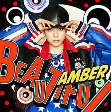 K-POP AMBER F(x) FX 1st Mini Album [Beautiful] CD + Photocard Sealed Music CD