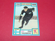 263 C THUNBERG 1928 HIVER PANINI OLYMPIA 1896-1972 JEUX OLYMPIQUES OLYMPIC GAMES
