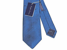 Ralph Lauren Purple Label Mens Hand Made In Italy Solid Silk Satin Knit Neck Tie