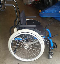 Child's Manual Wheelchair - PRICE REDUCED!! -  Royal Blue - Great Shape!