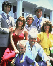 DALLAS LARRY HAGMAN VICTORIA PRINCIPAL & CAST PHOTO COL