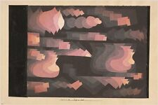PAUL KLEE 1921 - fuge in rot VINTAGE PAINTING POSTER abstract art 24X36 NEW