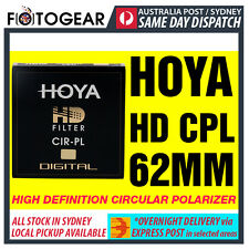 Genuine HOYA HD High Definition Density Circular Polarizer CPL 62mm EXPRESS POST