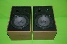 Canton C 850 Boxen Lautsprecher 1 Paar Vintage 3-way Speakers Nussbaum