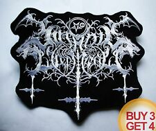SATANIC WARMASTER 2 WT BACK PATCH BUY3GET4,TAAKE,MGLA,HORNA,ARCHGOAT,GORGOROTH