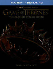 Game of Thrones Blu-Ray/Digital HD Season 2 - New Sealed - Second Season