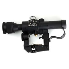 Hunting Airsoft Dragunov 4x26 PSO-1 SVD Rifle Scope Sniper AK Illuminated  Sight