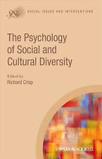 The Psychology of Social and Cultural Diversity by Richard J. Crisp Paperbac