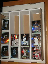 2010 Topps  Chrome Base , Refractor , and inserts 607 card Lot