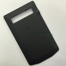 Black Leather Battery Back Cover Housing For BlackBerry Porsche Design P'9981