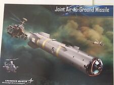 Lockheed Martin JOINT AIR TO GROUND MISSILE Military Data Sheet
