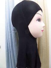 Cubierta Completa Hijab Estilo Bajo Bufanda Ninja Interior Cuello Pecho Gorra Lisa Gorra Sombrero