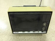 "Vintage PANASONIC TV set ""Speed-O-Vision"" RARE Television"