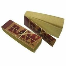 2X RAW Rolling Tips Unrefined Filter Paper Cigarette - FAST FREE SHIPPING