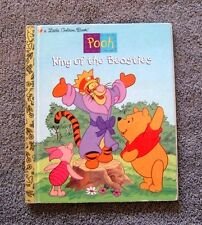 Little Golden Book Disney Pooh King of the Beasties by Ann Braybrooks 1998