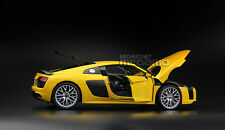 1/18 Audi R8 V10 Plus Coupe Dealer Edition Yellow i-SCALE