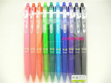 (Tracking no.) Pilot FriXion Ball Clicker 0.7mm Rollerball Pen 10 Colours