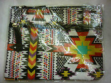 AZTEC PRINT PURSE TWO ZIP SECTIONS BN ETHICALLY TRADED