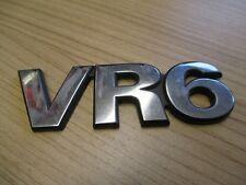 VR6 CHROM Emblem Zeichen VW Sharan Schriftzug Logo Heckklappe 7M0853675A