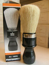 OMEGA  #4P PLASTIC HANDLED SHAVING  MUG  BRUSH (PAINT BRUSH) STYLE