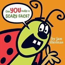 Can You Make a Scary Face? by Jan Thomas (2009, Picture Book)
