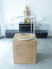 ClassiCon Eileen Gray Adjustable Table, Chrom, Glas,Showroomware in Berlin, Neu!