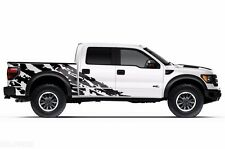 Vinyl Decal Shred Wrap Kit for Ford Truck F-150 Raptor SVT 2010-2014 Matte Black