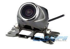 METAL CAR/TRUCK COLOR FRONT/REAR VIEW BACK UP CAMERA FOR LICENSE PLATE & WIRING