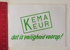 ADESIVI/Sticker: KEMA KEUR-DAT is veiligheid voorop (04061623)