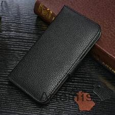 Handy Tasche für iPhone 6 6s Schutz Hülle Case Etui Wallet Bumper Cover Schwarz