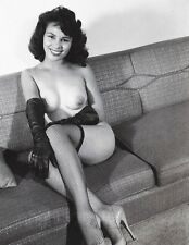 1960s Pinup Nude Corrine Rodella Latina Model #3 8 x 10 Photograph