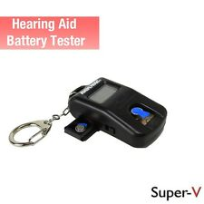 Rayovac Hearing Aid Battery Tester w/ 2 cell battery caddy