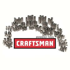 Craftsman 197 pc Mechanics Tool Set All Sockets 1/2 3/8 1/4 Drive + Hex 311