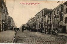 CPA La Guerre dans les Vosges-Saint Dié-Rue d'Alsace (184689)