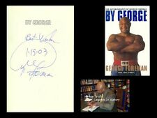 GEORGE FOREMAN Autographed Signed Book By George Boxing Heavy Weight Champion