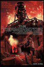 The Terminator Variant Alt Movie Poster Mondo by Artists Stan & Vince No. /175
