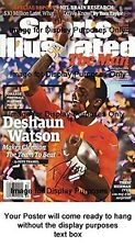 Deshaun Watson Sports Illustrated Replica Poster - Clemson Tigers Team to Beat